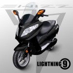 Lightning 9 electric motorbike