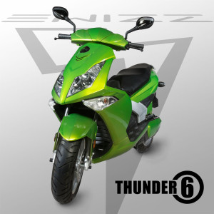 Thunder 6 electric motorbike