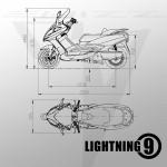 Lightning 9 electric motorbike